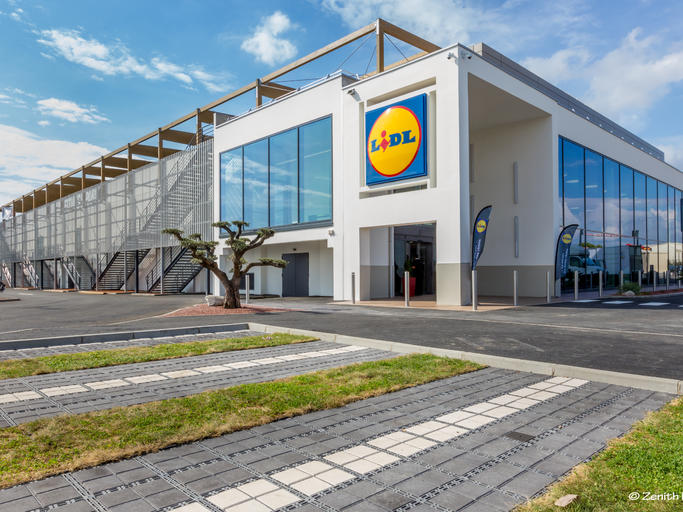 Supermarché LIDL à Vendargues