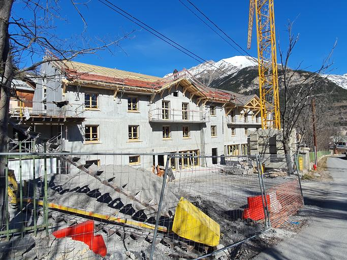 Rénovation et extension de l'Hôpital Sainte Anne à Jausiers