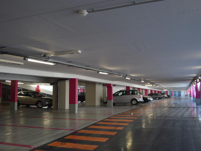 Parking du Pôle d'Echanges de Toulon
